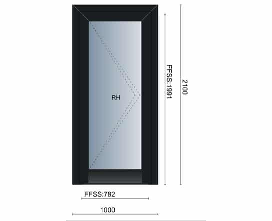 Single Residential Door