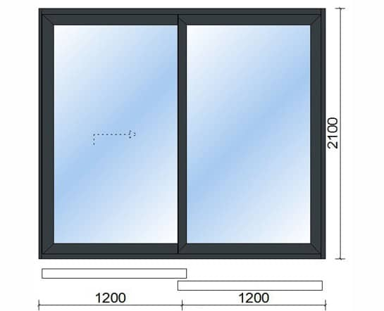 Sliding Doors (2 Pane)